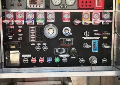 PFA0162 2004 Pierce pump panel