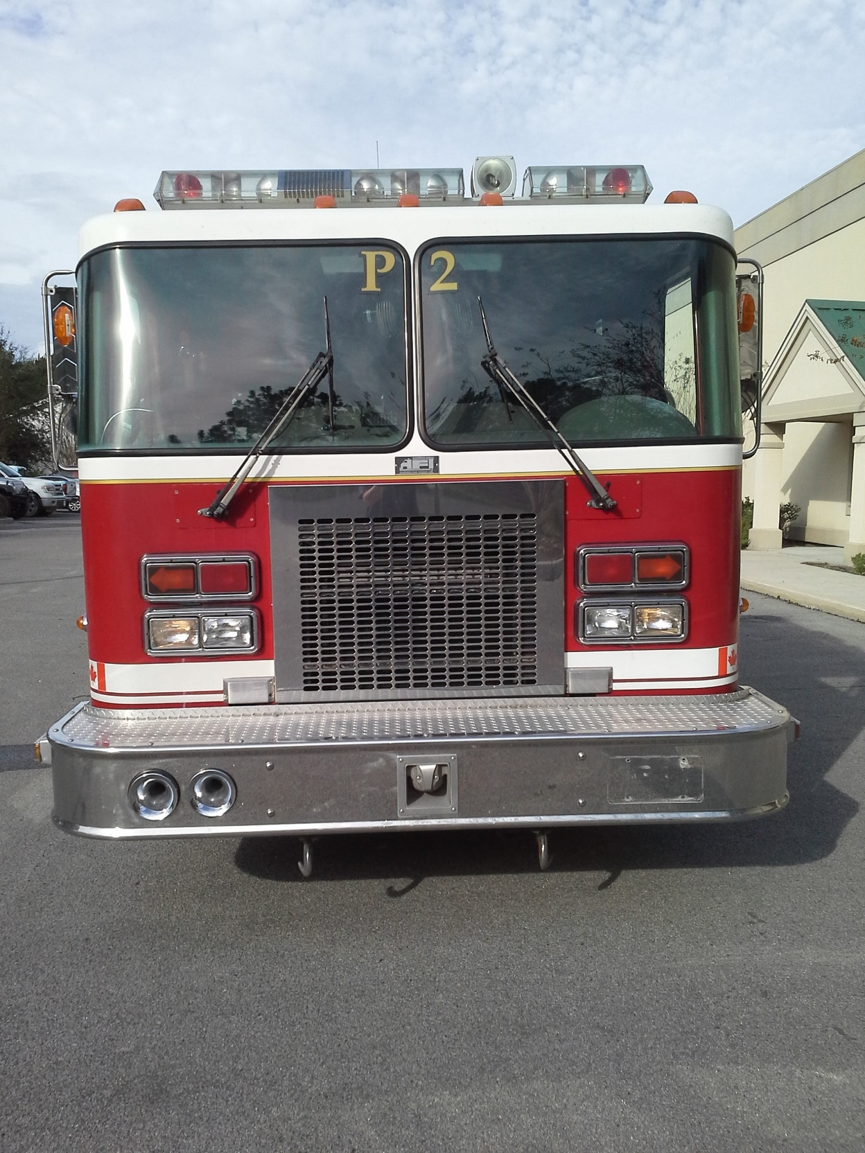 Kme Pump Heater: 1995 Spartan Pumper (BPFA0147)-SOLD