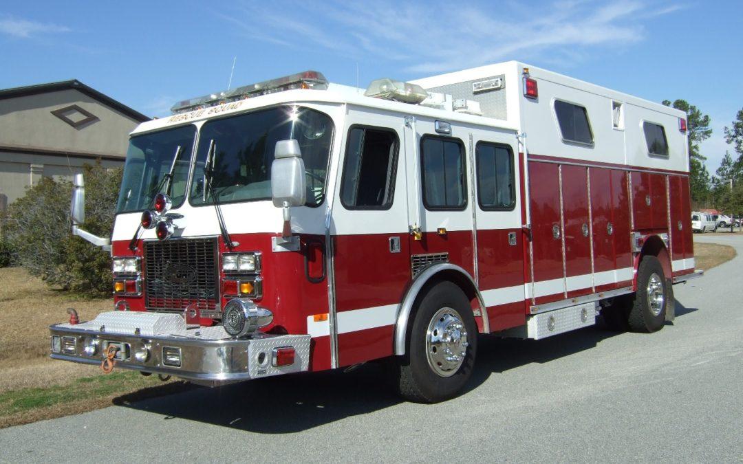 1995 E-One Heavy Rescue (BPFA0051) PRICE REDUCED