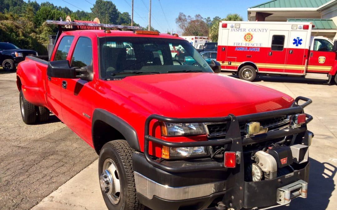 2006 Chevrolet 3500 4X4 Used Brush Fire Truck (PFA0129) –SOLD
