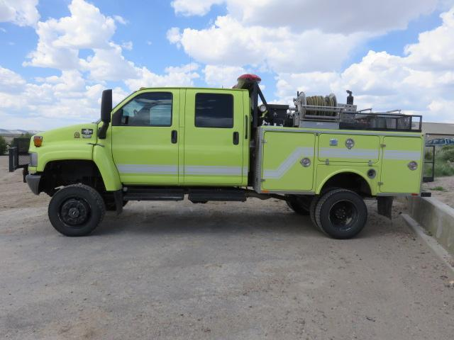 2008 Chevy C5500 4x4 Brush Truck Pfa0180 Sold Palmetto Fire