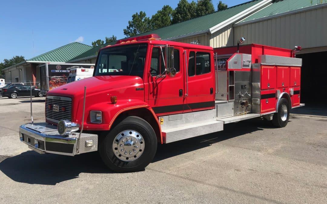 PFA0177 – 1996 EEI/Freightliner Commercial Pumper-SOLD