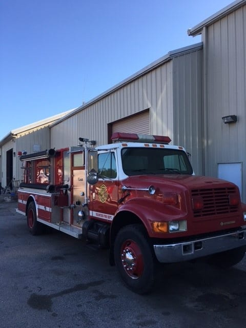 Tanker Palmetto Fire Apparatus