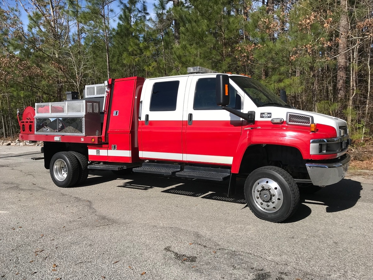 PFA0188 2008 Chevy 5500 Brush Truck - Palmetto Fire Apparatus