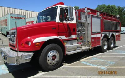 PFA0196 2003 Pierce/Freightliner Pumper Tanker – SOLD